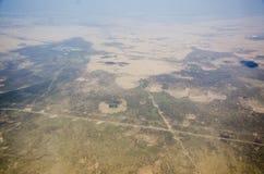 Nuages de désert image libre de droits