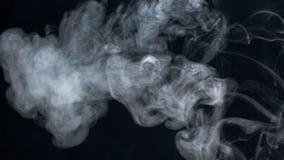 Nuages de fumée Photo stock