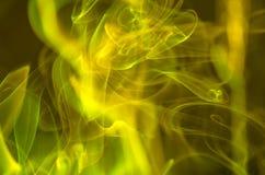 Nuages de fumée scéniques Photo stock