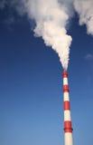 Nuages de la fumée blanche Images libres de droits
