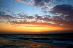 Nuages de lever de soleil Photos stock