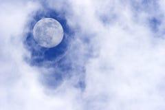 Nuages de lune Images stock