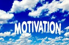 Nuages de motivation Image libre de droits