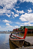 Nuages de Phuket Images libres de droits