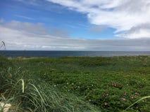 Nuages de plage de Sylt Photo libre de droits