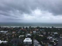Nuages de pluie Image stock