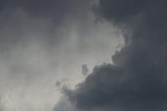 Nuages de pluie Photographie stock libre de droits
