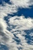 Nuages de plume photo libre de droits