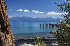 Nuages de Tahoe photographie stock