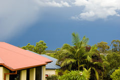 Nuages de tempête Photo libre de droits