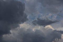 Nuages de tempête 2 Photo libre de droits