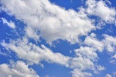 Nuages en ciel Photo stock