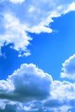 Nuages en ciel Photos libres de droits