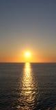 Nuages en mer Photos libres de droits
