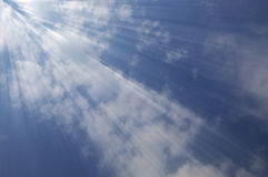Nuages et ciel Photo stock
