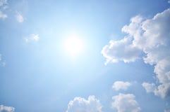 Nuages et ciel Photo libre de droits