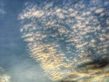 Nuages et ciel Image libre de droits