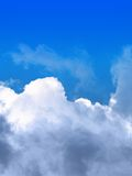 Nuages et ciel Photo stock