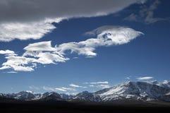 Nuages et ciel bleu Images libres de droits