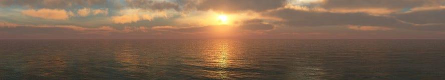 Nuages et soleil, beau ciel avec des nuages Images stock