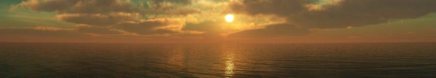 Nuages et soleil, beau ciel avec des nuages Photos stock