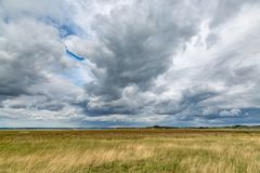 Nuages excessifs Photographie stock