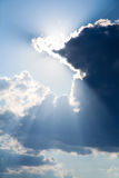 Nuages excessifs photo stock
