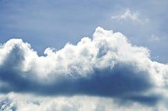 Nuages gris Photographie stock libre de droits