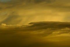Nuages orageux Image libre de droits