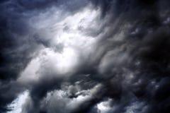 Nuages orageux Photos libres de droits
