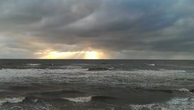 Nuages orageux Photographie stock libre de droits