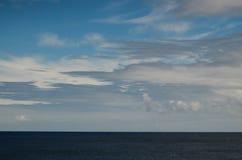 Nuages près de l'Océan Atlantique Photographie stock