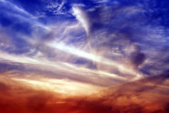 nuages rêveurs Photos libres de droits