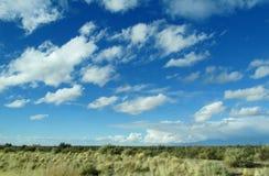 Nuages sur l'horizon de ciel Image libre de droits