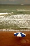 Nuages sur la plage #3 images stock