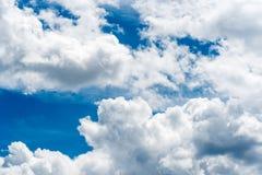 nuages vers le haut Image libre de droits