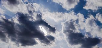 nuageux photos stock