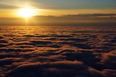 nuageux Photo stock