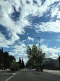 nuageux Images libres de droits