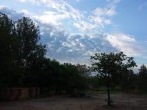 nuageux Photographie stock libre de droits