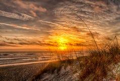 Nuageux avec une possibilité du soleil Photo libre de droits
