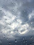 nuageux et pluvieux Image libre de droits