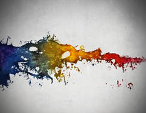 Nuances. Colored paint in different nuances Royalty Free Stock Images