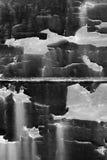 Nuances de gris et de noir Photo libre de droits