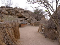 Nuba village Stock Photos