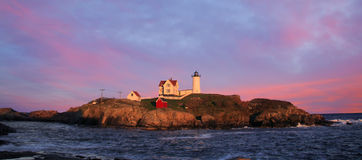 Nubble Light Royalty Free Stock Photos