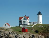 Nubble light Stock Photos