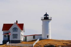 Nubble Light Royalty Free Stock Photo
