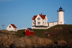Nubble Light Stock Photography