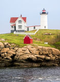 The Nubble Light Royalty Free Stock Image